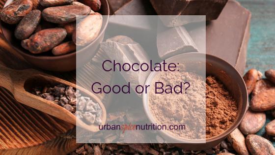 Chocolate:  Good or Bad?